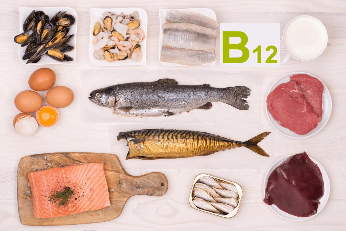 Produkty zwitaminą B12