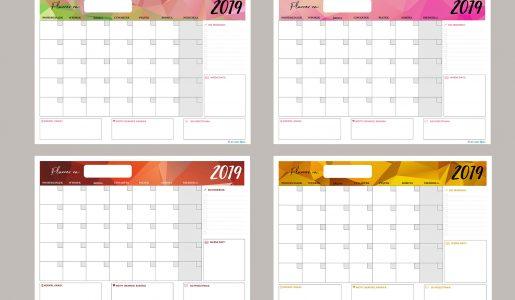 4 miesięczne plannery