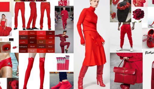Czerwień  moim kolorem